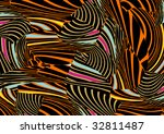 retro wallpaper | Shutterstock .eps vector #32811487