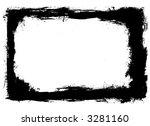 ink frame   Shutterstock .eps vector #3281160
