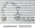 business intelligence ... | Shutterstock . vector #328123316