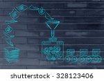 business intelligence ... | Shutterstock . vector #328123406