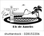 rio de janeiro  brazil. october ... | Shutterstock .eps vector #328152206