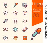 lineo colors   medical and... | Shutterstock .eps vector #328154372