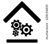workshop vector icon. style is... | Shutterstock .eps vector #328156835