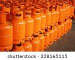 lpg gas bottles.  | Shutterstock . vector #328165115