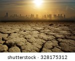 global warming and pollution... | Shutterstock . vector #328175312