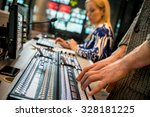 the operator controls the... | Shutterstock . vector #328181225