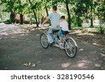 family bike tours double   Shutterstock . vector #328190546