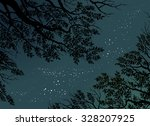 vector night background with... | Shutterstock .eps vector #328207925