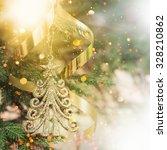 christmas background | Shutterstock . vector #328210862