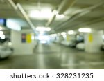 underground parking with cars. | Shutterstock . vector #328231235
