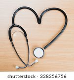 medical stethoscope | Shutterstock . vector #328256756