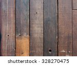 dark wooden fence background  | Shutterstock . vector #328270475