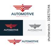 automotive logo wing logo bird... | Shutterstock .eps vector #328275146