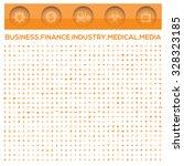 business office money... | Shutterstock .eps vector #328323185