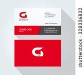 g letter logo modern simple... | Shutterstock .eps vector #328336832
