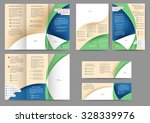set of colored abstract... | Shutterstock .eps vector #328339976