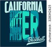 sport tee graphic | Shutterstock .eps vector #328342625