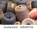 Several Yarn Bobbins Of...