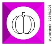 pumpkin icon   Shutterstock .eps vector #328401308