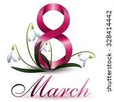 8 march | Shutterstock .eps vector #328414442