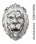lion vector   Shutterstock .eps vector #328415006