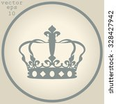 crown icon  | Shutterstock .eps vector #328427942