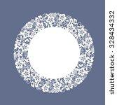 template  frame design for... | Shutterstock .eps vector #328434332