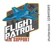 Flight Patrol Fighter Jet