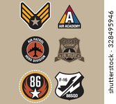 aviation badges | Shutterstock .eps vector #328495946