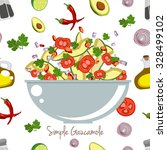 various vegetables icons set... | Shutterstock .eps vector #328499102
