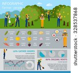 infographic people working in... | Shutterstock .eps vector #328537868