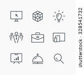 isolated minimal single flat... | Shutterstock .eps vector #328541732