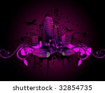 urban vector composition | Shutterstock .eps vector #32854735