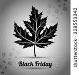 black friday sale  autumn... | Shutterstock .eps vector #328553342