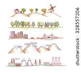 vector illustration of ... | Shutterstock .eps vector #328557206