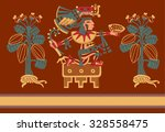 vector illustration decorate... | Shutterstock .eps vector #328558475