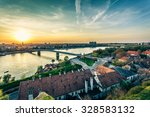 cityscape from of novi sad.... | Shutterstock . vector #328583132