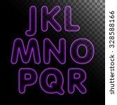 purple x ray neon light glowing ... | Shutterstock .eps vector #328588166
