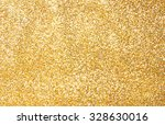 gold sequinned background... | Shutterstock . vector #328630016