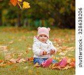 very charming beautiful little... | Shutterstock . vector #328638206