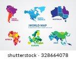world map | Shutterstock .eps vector #328664078