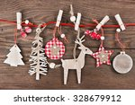 Wooden Christmas Decoration  ...