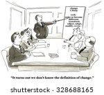 Business Cartoon Showing...