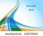 abstract background  vector... | Shutterstock .eps vector #32870065