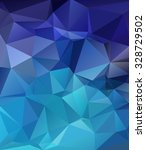 blue polygonal mosaic... | Shutterstock .eps vector #328729502