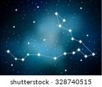 horoscope zodiac sign of the... | Shutterstock .eps vector #328740515