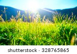 beautiful nature landscape  ... | Shutterstock . vector #328765865
