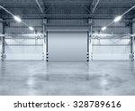 roller shutter door and... | Shutterstock . vector #328789616