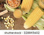 corn milk   Shutterstock . vector #328845602