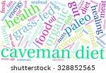 caveman diet word cloud on a... | Shutterstock . vector #328852565